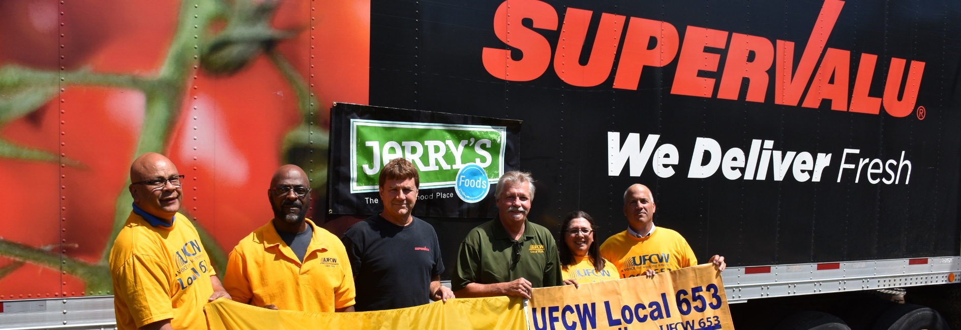 UFCW Local 653, Supervalu, and Jerry's Enterprises help Iowa Tornado Victims