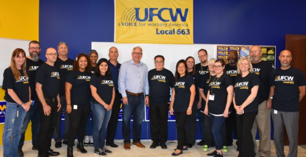 United Food & Commercial Workers Union Local 663 endorses Tim Walz for Governor of Minnesota