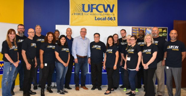 UFCW Local 663 Applauds Governor & Lt. Gov.-elect Tim Walz and Peggy Flanagan on their Election