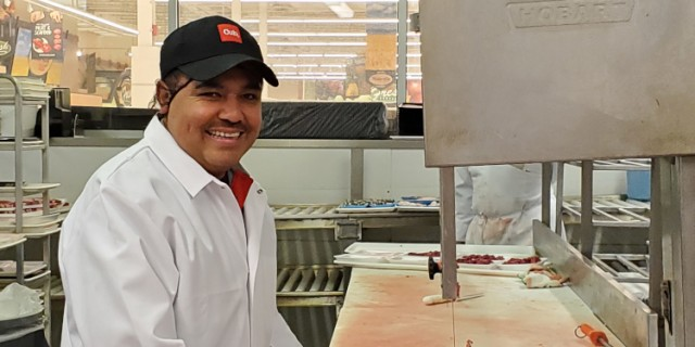 Union Meat Cutter Training Program Lifts Part-Time Position to Full-Time Opportunity