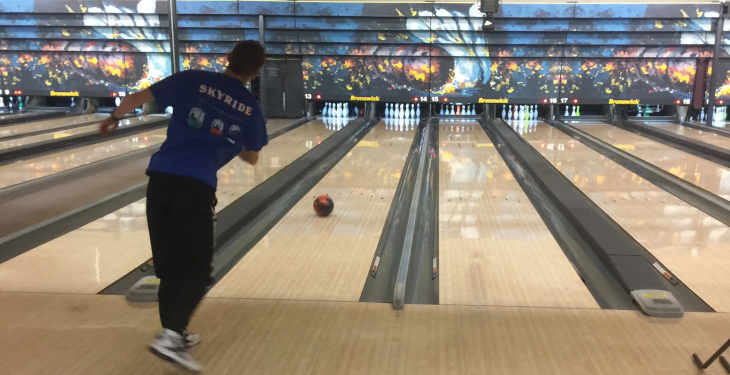 New Hope bowling alley lane