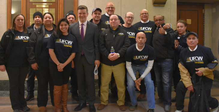 UFCW 663 supports drivers' Licenses for all